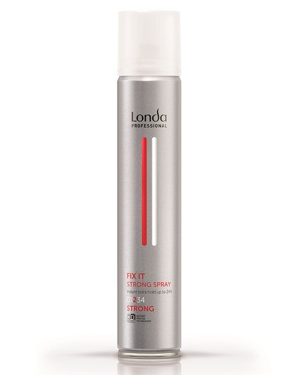 Лак для волос сильной фиксации Finish fix it LondaЛак для волос<br>Лак обеспечивает сильную и надежную фиксацию разных типов локонов.<br><br>Бренды: Londa Professional<br>Вид товара: Спрей, мусс<br>Область ухода: Волосы<br>Назначение: Стайлинг<br>Тип кожи, волос: Осветленные, мелированные, Окрашенные, Вьющиеся, Сухие, поврежденные, Жирные, Нормальные, Тонкие<br>Косметическая линия: Линия Styling Londa для укладки волос