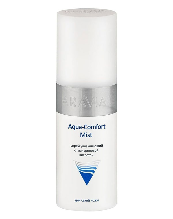 Купить Тоник, лосьон Aravia, Спрей увлажняющий с гиалуроновой кислотой Aqua Comfort Mist, ARAVIA Professional, 150 мл