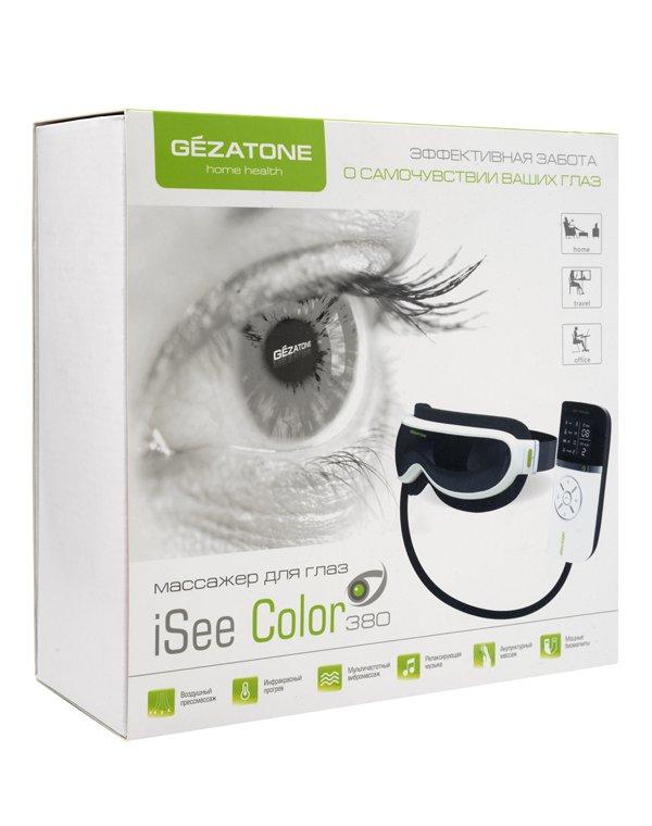 Массажер, аппарат GEZATONE Массажер для глаз Gezatone iSee 380