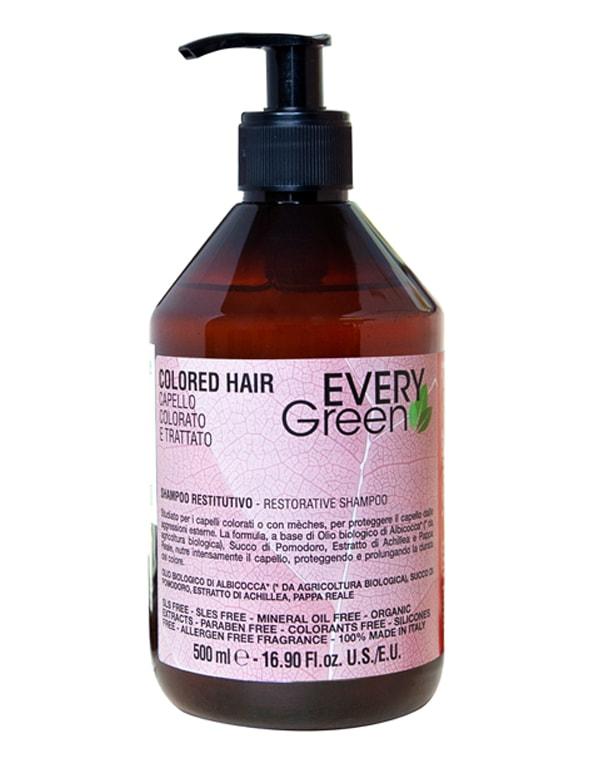 Шампунь для окрашенных волос Colored-hair capello colorato e tratto, Dikson фото