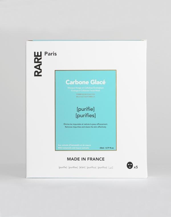 Набор из пяти очищающих тканевых масок для лица 115мл RARE Paris недорого