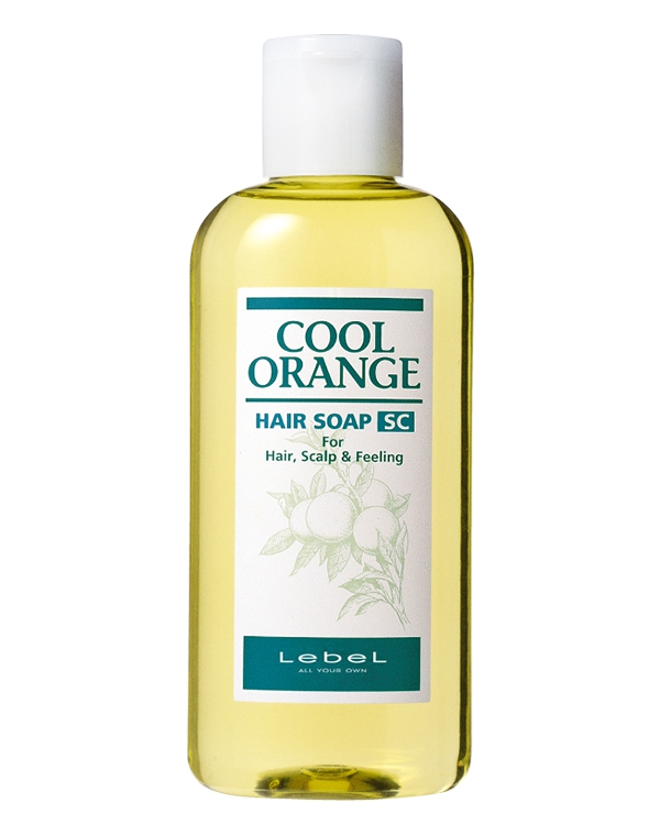 Шампунь для волос Cool Orange Hair Soap Super Cool, Lebel