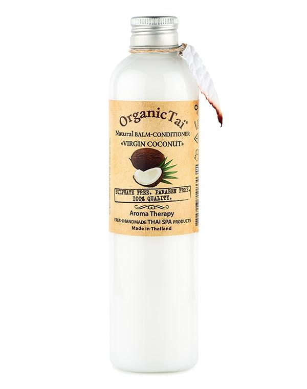 Кондиционер, бальзам Organic TaiБальзамы для лечения волос<br>Кондиционер с приятным ароматом кокоса прекрасно поухаживает за всеми типами волос при чувствительном типе кожи. Он сделает локоны невероятно мягкими и наполнит их жизненной энергией и блеском.<br><br>Бренды: Organic Tai<br>Вид товара: Кондиционер, бальзам<br>Область ухода: Волосы<br>Назначение: Восстановление и защита<br>Тип кожи, волос: Окрашенные, Сухие, поврежденные, Нормальные<br>Возрастная группа: Более 40, До 30, До 40
