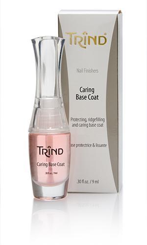 Лак для ногтей TrindКосметика для ногтей<br>Базовое покрытие Trind — это основа под лак, которая надежно защитит ногти от нежелательной пигментации и визуально сгладит все неровности н...<br><br>Бренды: Trind<br>Вид товара: Лак для ногтей<br>Область ухода: Ногти<br>Назначение: Укрепление и восстановление ногтей