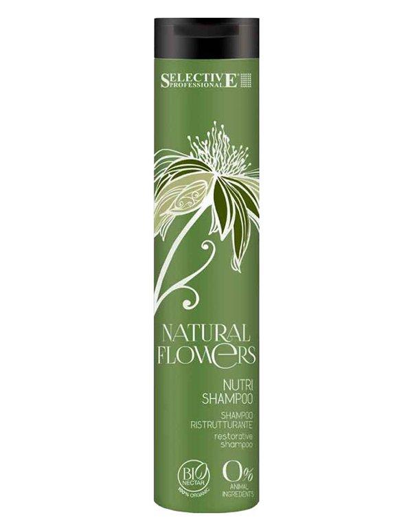 Шампунь питательный для восстановления волос Nutri Shampoo, Selective