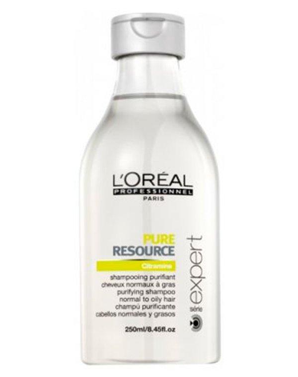 Шампунь Loreal Professional Очищающий шампунь для жирных волос Expert Pure Resource Shampoo Loreal