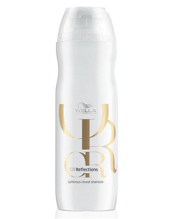 Шампунь для интенсивного блеска волос WellaШампуни для сухих волос<br>Легкий увлажняющий шампунь для смягчения и придания волосам интенсивного блеска.<br><br>Бренды: Wella Professional<br>Вид товара: Шампунь<br>Область ухода: Волосы<br>Назначение: Увлажнение и питание, Восстановление и защита<br>Тип кожи, волос: Осветленные, мелированные, Окрашенные, Вьющиеся, Сухие, поврежденные, Нормальные, Тонкие<br>Косметическая линия: Линия Wella Oil Reflections сияние масел<br>Объем мл: 250