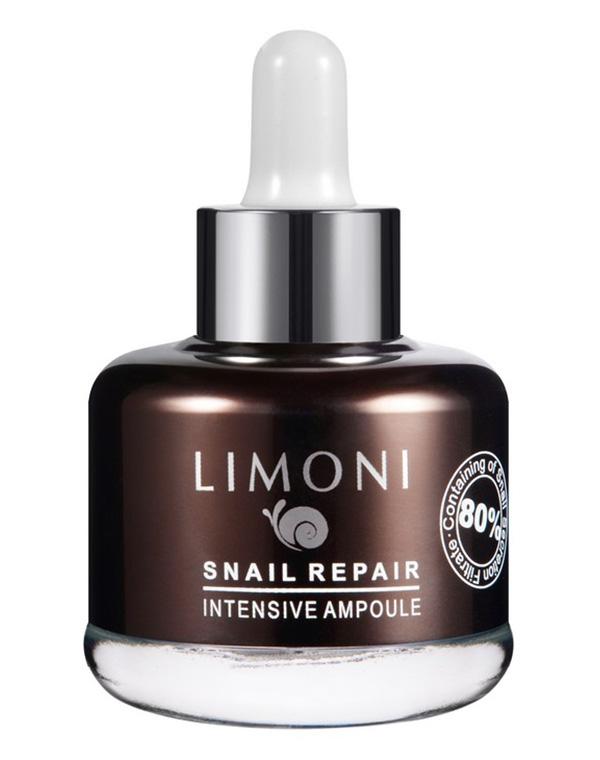 Сыворотка для лица восстанавливающая Snail Repair Intensive Ampoule Limoni, 25 мл clarins multi intensive восстанавливающая сыворотка multi intensive восстанавливающая сыворотка