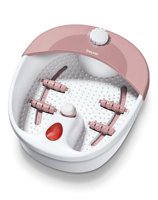 цена на Гидромассажная ванночка для ног FB 20, Beurer, белый/розовый