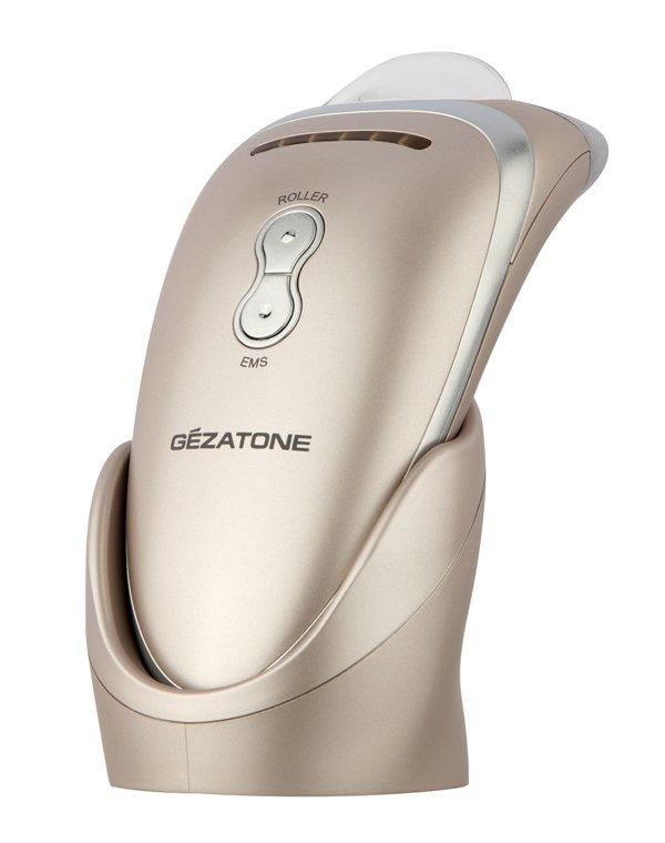 Массажер, аппарат GEZATONEПоврежденная упаковка<br>Многофункциональный аппарат, сочетающий методики пластического массажа и электромиостимуляции, поднимает опустившиеся мышцы, возвращает четкость контурам лица. Регулярные процедуры улучшают цвет и тонус кожи, усиливают усвоение косметики.<br><br>Бренды: GEZATONE<br>Вид товара: Массажер, аппарат<br>Область ухода: Лицо, Шея и подбородок<br>Назначение: Коррекция морщин и лифтинг, Интенсивный уход, Массаж лица<br>Тип кожи, волос: Сухая, Увядающая, Жирная и комбинированная, Нормальная, Чувствительная<br>Возрастная группа: Более 40, До 40<br>Метод воздействия: Миостимуляция, Механический массаж