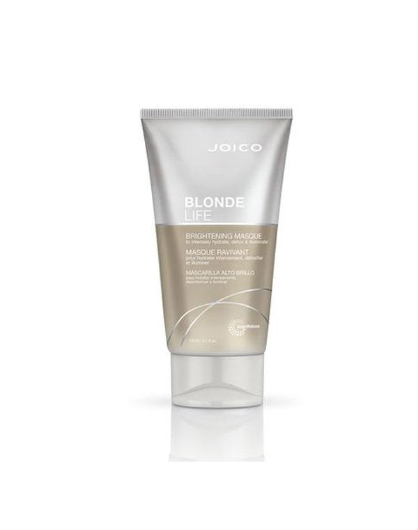 Маска Бриллиантовый блонд для сохранения чистоты и сияния блонда Blonde Life Brightening Mask 50 мл, 150 мл Joico