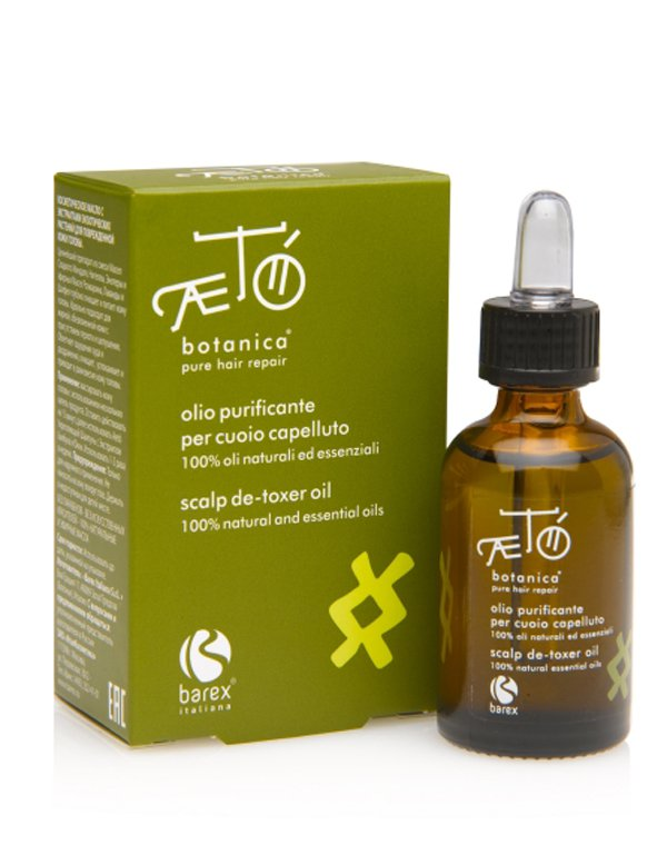 Масло для волос Barex Экстракт масел экзотических растений для поврежденной кожи головы