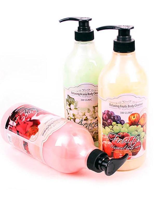 Гели для душа Relaxing Body Cleanser, 3W Clinic, 1000 мл гели botavikos гель для душа aromatherapy body energy botavikos