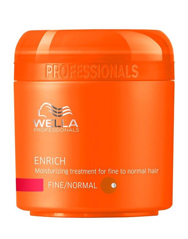 Крем Wella ProfessionalМаски для сухих волос<br>Маска укрепляет тонкие и ослабленные волосы, возвращает им блеск, насыщает сиянием.<br><br>Бренды: Wella Professional<br>Вид товара: Крем, Маска для волос<br>Область ухода: Волосы<br>Назначение: Увлажнение и питание, Для объема<br>Тип кожи, волос: Нормальные, Тонкие<br>Косметическая линия: Линия Wella Enrich Line питания и увлажнения<br>Объем мл: 500