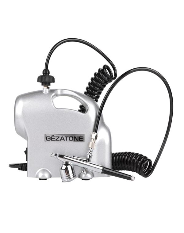 Аэрограф с компрессором для лица и тела аэродиффузор AIR 400, Gezatone стоимость