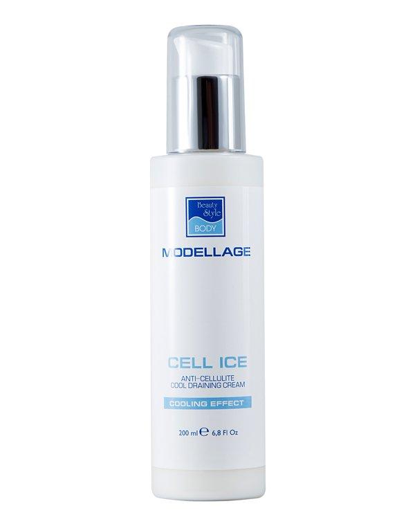 Антицеллюлитный крем Beauty Style «CELL ICE», 200 мл, ModellageАнтицеллюлитный крем<br>Охлаждающий крем с интенсивным антицеллюлитным действием, с дренирующим и сосудоукрепляющим эффектом. Устраняет проявления целлюлита, тонизирует кожу и выравнивает кожный рельеф.<br>
