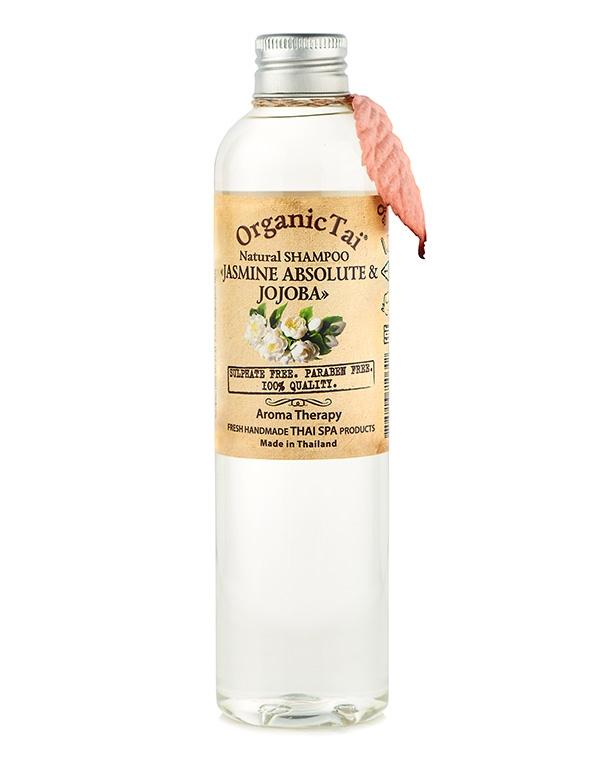 Купить Шампунь Organic Tai, Шампунь для волос натуральный «Жасмин и жожоба» Organic Tai, 260 мл