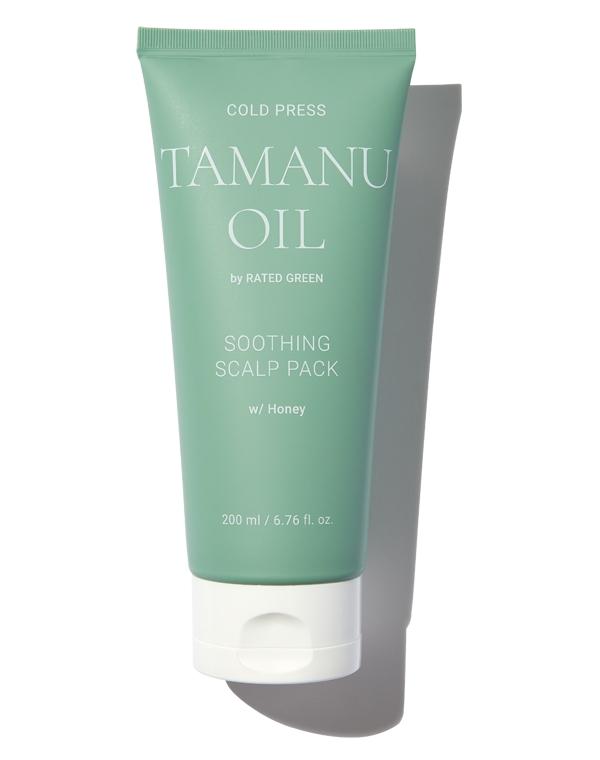 Купить Маска Rated Green, Маска для кожи головы успокаивающая с маслом таману Soothing Scalp Pack (Black Current) 200мл Rated Green