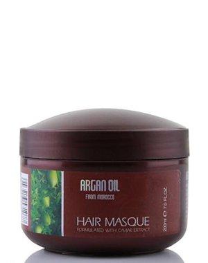 Маска для волос Morocco Argan OilУход за сухими волосами<br>Маска для глубокого питания и увлажнения волос предназначена для профессионального ухода за волосами в домашних условиях. Маска наполняет волосы жизненной силой и энергией, увлажняет волосы, позволяя улучшить их структуру.<br><br>Бренды: Morocco Argan Oil<br>Вид товара: Маска для волос<br>Область ухода: Волосы<br>Назначение: Увлажнение и питание, Восстановление и защита<br>Тип кожи, волос: Осветленные, мелированные, Окрашенные, Вьющиеся, Сухие, поврежденные, Жирные, Нормальные, Тонкие
