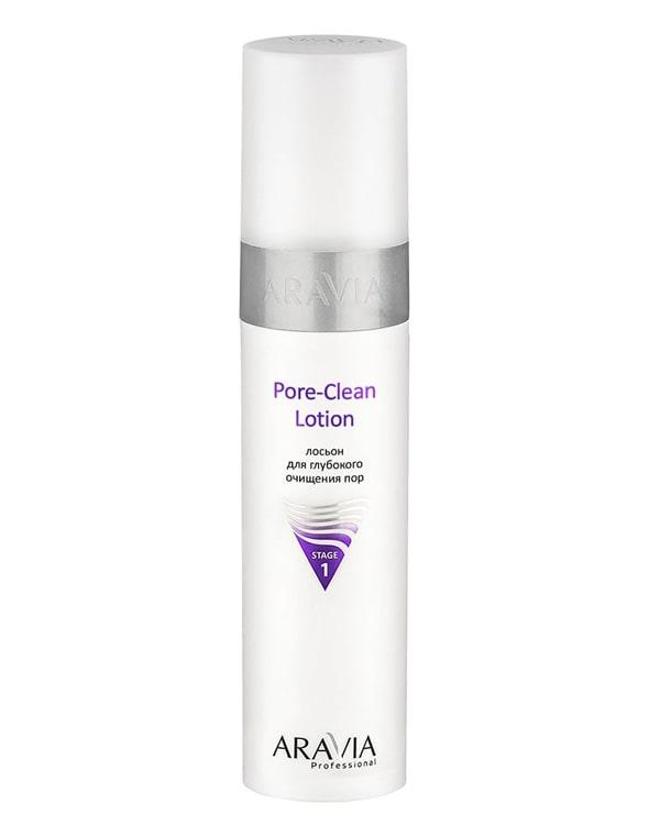 Лосьон для глубокого очищения пор Pore-Clean Lotion, ARAVIA Professional, 250 мл купить косметику aravia