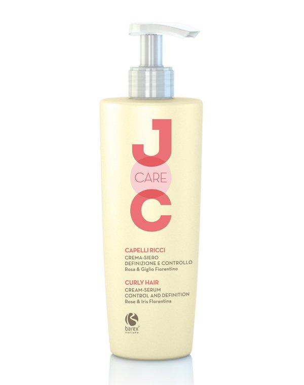 Сыворотка, флюид BarexКрем для волос<br>Создать четкие и послушные локоны поможет сыворотка-крем. Она сбалансирует жесткость волос и придаст прядям роскошную структуру. После нанесения средства волосы становятся мягкими, легкими и блестящими.<br><br>Бренды: Barex<br>Вид товара: Сыворотка, флюид<br>Область ухода: Волосы<br>Назначение: Стайлинг, Для завивки<br>Тип кожи, волос: Нормальные, Вьющиеся<br>Косметическая линия: Joc care Линия для ухода по длине волос