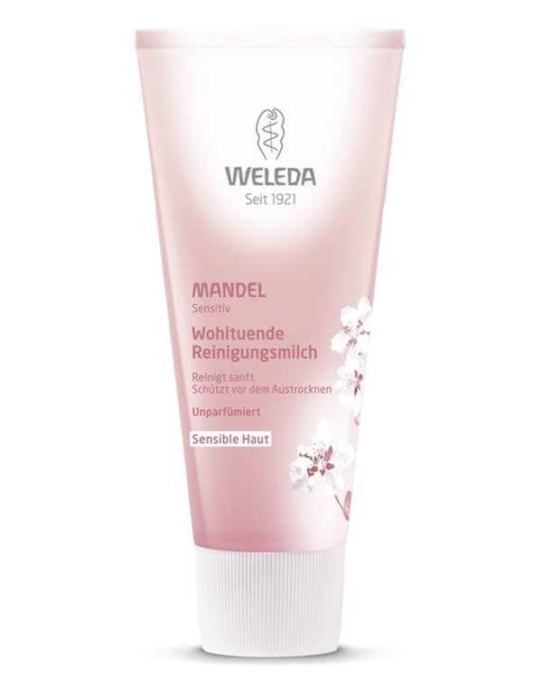 Молочко, пенка Weleda Деликатное очищающее молочко, Weleda молочко sea of spa деликатное очищающее молочко для лица и глаз