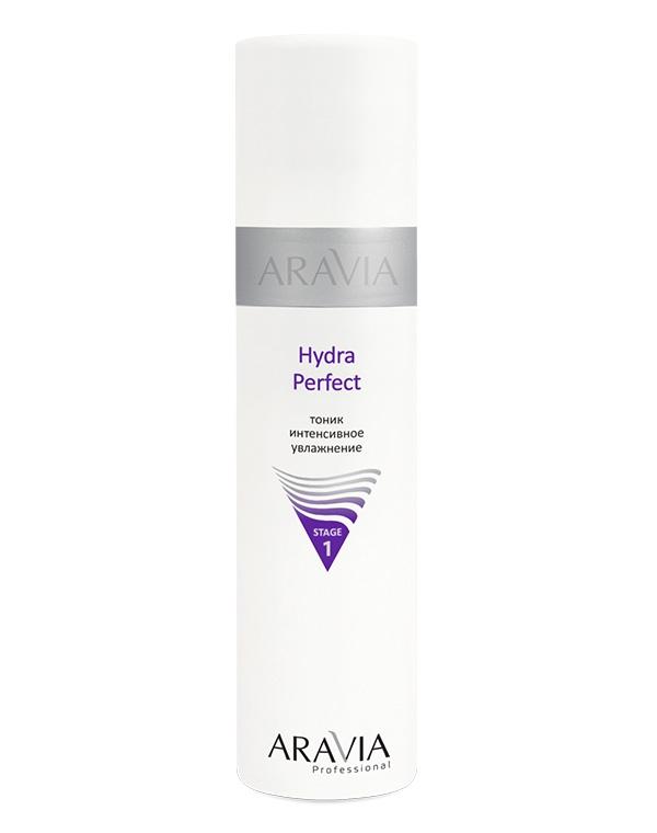 Тоник интенсивное увлажнение Hydra Perfect ARAVIA Professional, 250 мл цена