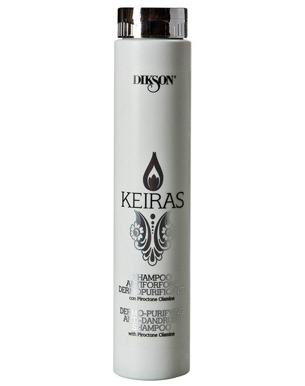 Шампунь DiksonШампуни для лечения волос<br><br><br>Бренды: Dikson<br>Вид товара: Шампунь<br>Область ухода: Волосы<br>Назначение: Лечение перхоти<br>Тип кожи, волос: Осветленные, мелированные, Окрашенные, Вьющиеся, Сухие, поврежденные, Нормальные, Тонкие<br>Косметическая линия: Линия Keiras Anti-Dandruff против перхоти<br>Объем мл: 1000