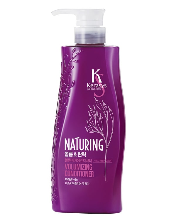 Кондиционер для волос Naturing Объем и эластичность с морскими водорослями KeraSys, 500 мл oriental premium кондиционер восстановление 500 мл kerasys