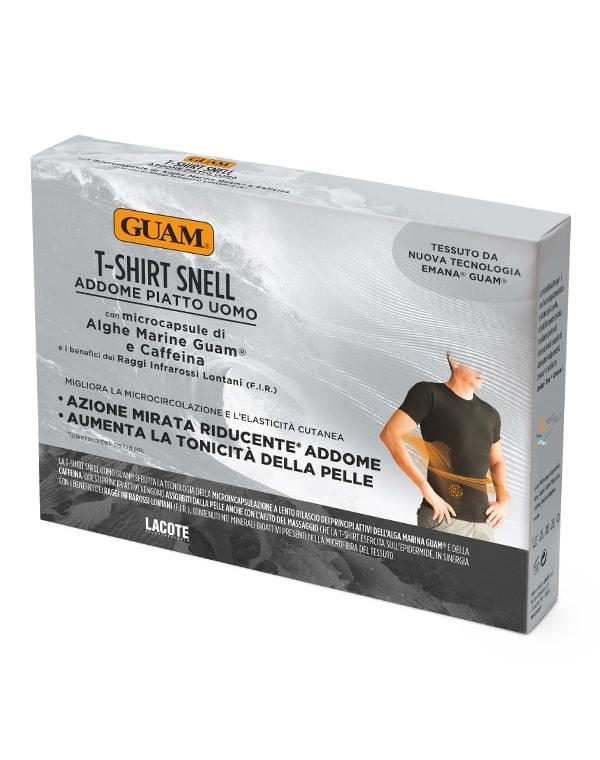 Фото - Футболка для мужчин с моделирующим эффектом, GUAM guam шорты с моделирующим эффектом области живота и талии l xl 46 50 guam аксессуары