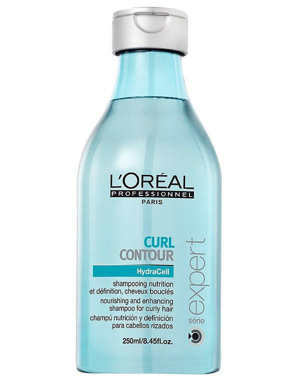 Шампунь Loreal Professional Шампунь для четкости контура завитка для вьющихся волос, Loreal loreal professional шампунь для седых волос для мужчин loreal professional homme grey shampoo e1599900 250 мл