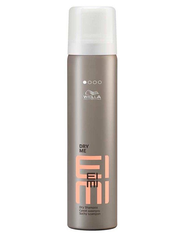 Шампунь сухой Dry Me WellaСухой шампунь<br>Сухой шампунь освежает волосы без мытья и придает легкий объем укладке.<br><br>Бренды: Wella Professional<br>Вид товара: Шампунь<br>Область ухода: Волосы<br>Назначение: Стайлинг, Очищение волос<br>Тип кожи, волос: Осветленные, мелированные, Окрашенные, Вьющиеся, Сухие, поврежденные, Нормальные, Тонкие<br>Косметическая линия: Линия Wella Eimi стайлинга