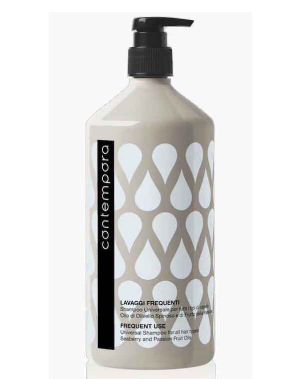 Шампунь BarexШампуни для окрашеных волос<br>Органический шампунь для всех типов волос подходит для частого применения. Эффективно очищает, успокаивает раздраженную кожу.<br><br>Бренды: Barex<br>Вид товара: Шампунь<br>Область ухода: Волосы<br>Назначение: Органический уход<br>Тип кожи, волос: Осветленные, мелированные, Окрашенные, Вьющиеся, Сухие, поврежденные, Жирные, Нормальные, Тонкие<br>Косметическая линия: Сontempora Уход на основе фруктовых масел и масла облепихи