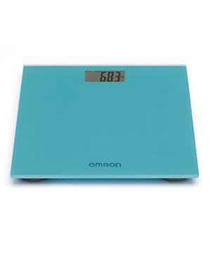 Весы персональные цифровые HN-289 (HN-289-EB) бирюзовые, OMRON