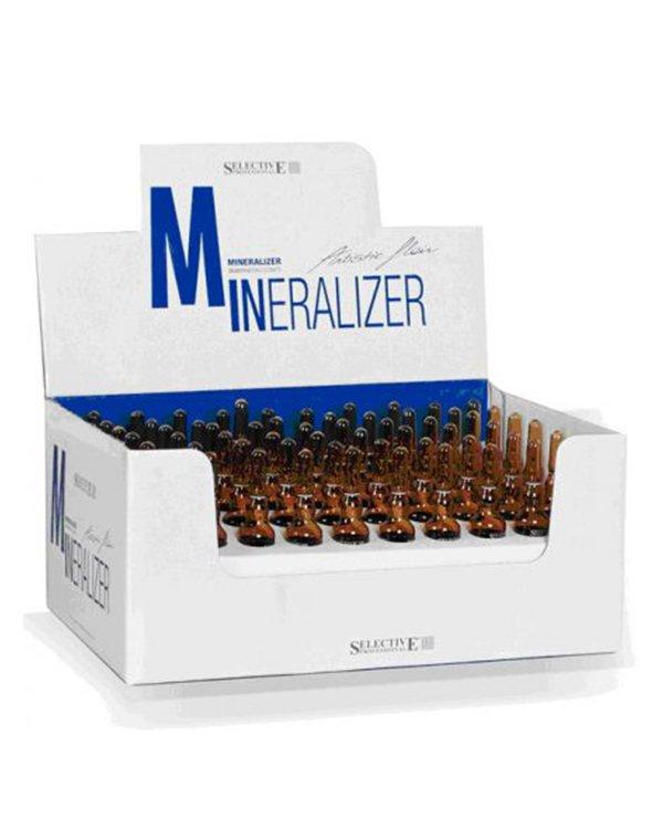 Лосьон реструктурирующий для волос Mineralizer 78x10 мл, SelectiveМаски для лечения волос<br>Отлично подходит для поврежденных волос. Восстанавливает протеин волоса, симулирует к естественной регенерации поврежденные участки. После применения волосы становятся упругими и эластичными, хорошо расчесываются. В состав входят минералы.<br><br>Бренды: Selective<br>Вид товара: Масло для волос<br>Область ухода: Волосы<br>Назначение: Восстановление волос, Для секущихся кончиков<br>Тип кожи, волос: Осветленные, мелированные, Окрашенные, Сухие, поврежденные<br>Косметическая линия: ARTISTIC FLAIR Линия для ухода и укладки