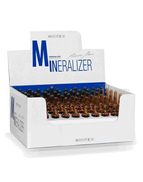 Лосьон реструктурирующий для волос Mineralizer 78x10 мл, Selective