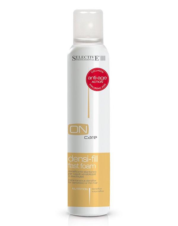 Спрей филлер для ухода за поврежденными или тонкими волосами Densi-fill Fast Foam, Selective, 200 мл купить филлер сурджидерм