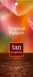 Сыворотка для загара лица и декольте с эффектом разглаживания морщин Tan Symphony фаза 3+, 20 саше по 20 мл Созвездие Красоты 980.000