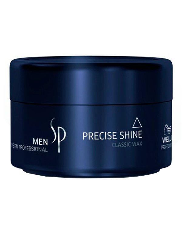 Воск для укладки и блеска сильной фиксации Men Precise Wax Wella SPВоск для волос<br>Воск идеален для создания повседневных образов, подходит для укладки коротких волос.<br><br>Бренды: Wella System Professional<br>Вид товара: Гель, воск<br>Область ухода: Волосы<br>Назначение: Стайлинг<br>Тип кожи, волос: Нормальные, Тонкие<br>Косметическая линия: Линия SP MEN ухода за волосами для мужчин