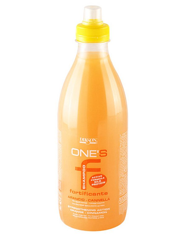 Укрепляющий шампунь с протеинами риса для нормальных волос One'S Sampoo Fortificante Dikson