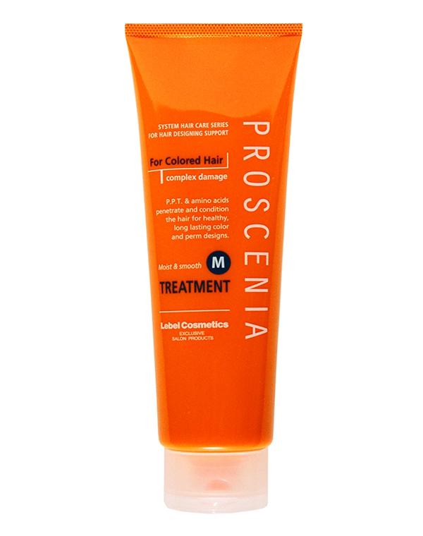 Маска по уходу за прямыми волосами Proscenia Treatment M, Lebel средства по уходу за волосами эстель