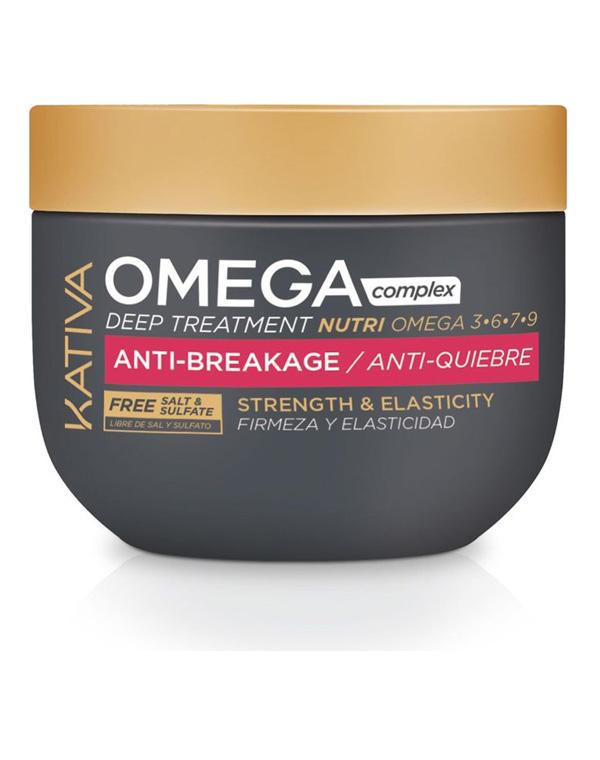 Маска для поврежденных волос «Антистресс» Omega Complex, Kativa, 250 мл kativa