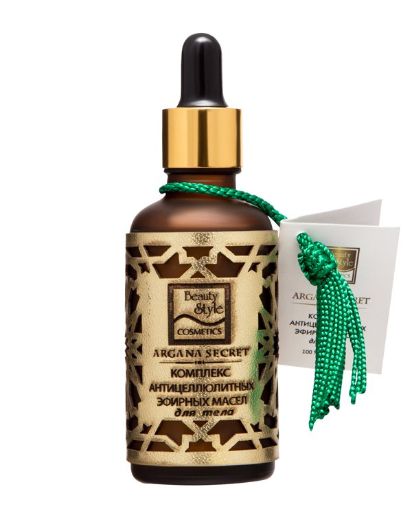 Масло Beauty Style Комплекс антицеллюлитных эфирных масел для тела 50мл  Beauty Style