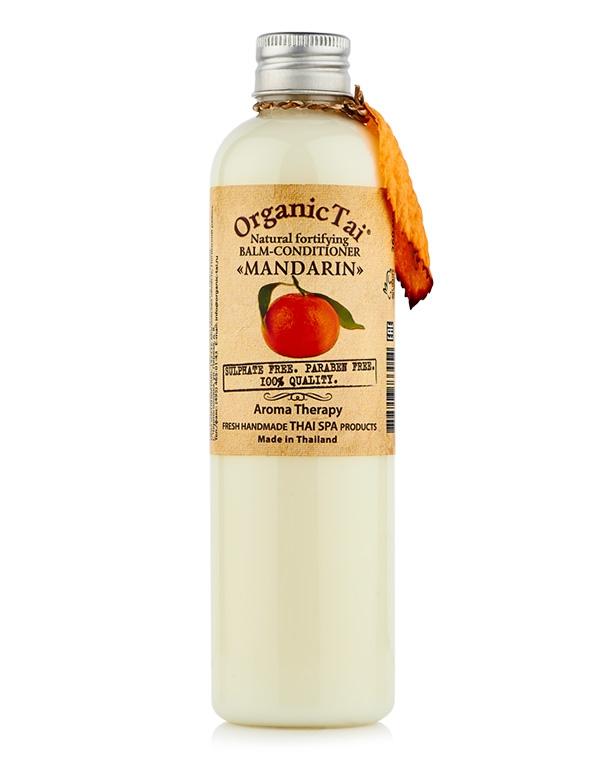 Кондиционер, бальзам Organic Tai - натуральный укрепляющий «Мандарин»  , 260 мл