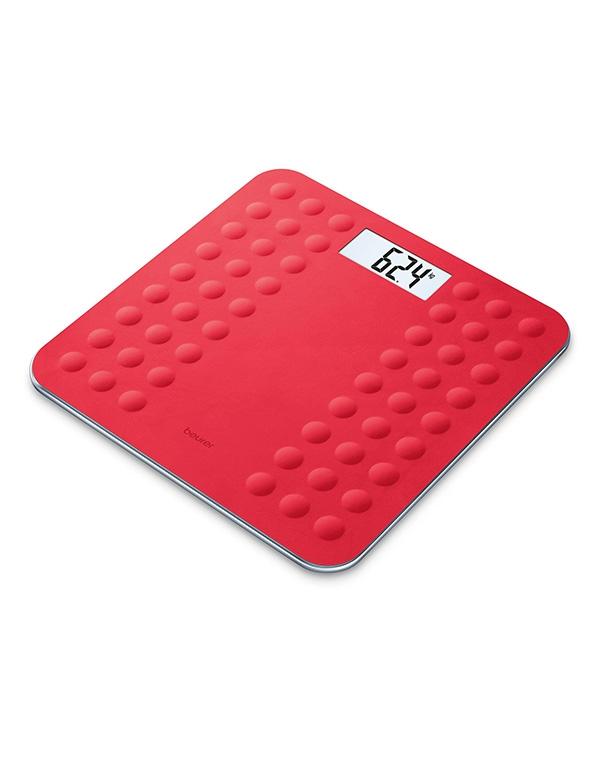 Весы напольные электронные GS 300, Beurer, красные