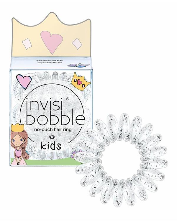 Аксессуары и расходники InvisibobbleСредства для укладки волос<br>Резинка для волос invisibobble KIDS princess sparkle абсолютно соответствует потребностям маленьких принцесс. Стильная, комфортная, волшебная!<br><br>Бренды: Invisibobble<br>Вид товара: Аксессуары и расходники<br>Область ухода: Волосы<br>Назначение: Стайлинг<br>Тип кожи, волос: Осветленные, мелированные, Окрашенные, Вьющиеся, Сухая, Сухие, поврежденные, Увядающая, Жирные, Жирная и комбинированная, Нормальная, Нормальные, Чувствительная, Тонкие, С куперозом<br>Косметическая линия: Линия Power
