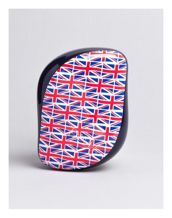 Щетка, расческа Tangle Teezer Расческа Tangle Teezer Compact Styler Cool Britannia