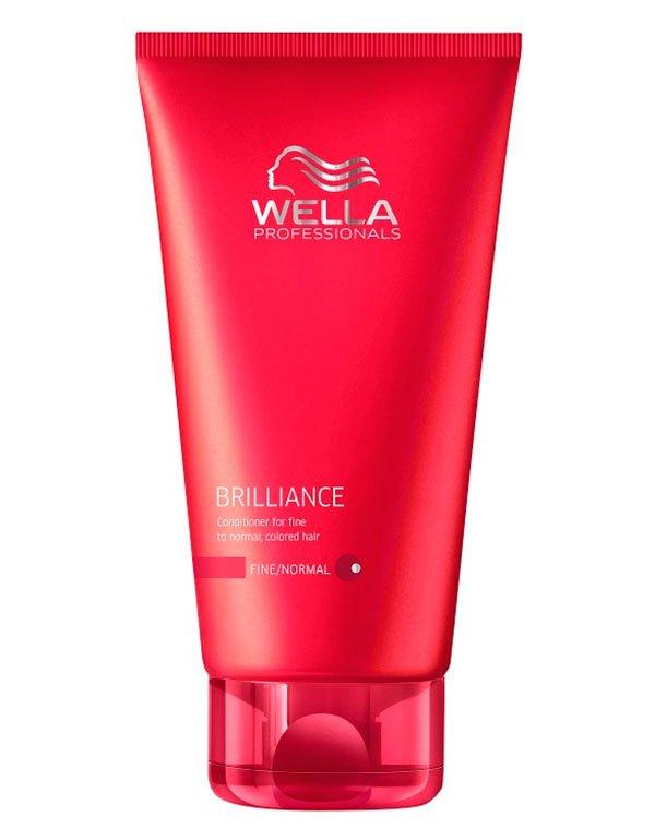 Бальзам для окрашенных нормальных и тонких волос WellaБальзамы для окрашеных волос<br>Бальзам насыщает волосы влагой, устраняет ломкость и сухость, придает естественное синяние прядям.<br><br>Бренды: Wella Professional<br>Вид товара: Кондиционер, бальзам<br>Область ухода: Волосы<br>Назначение: Увлажнение и питание, Защита цвета<br>Тип кожи, волос: Осветленные, мелированные, Окрашенные, Нормальные, Тонкие<br>Косметическая линия: Линия Wella Brilliance Line для окрашенных волос<br>Объем мл: 200
