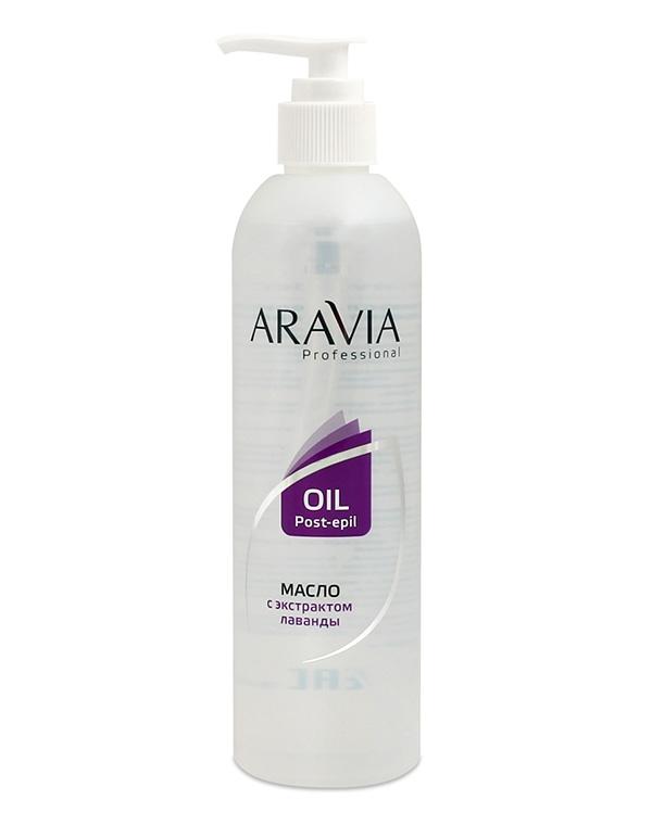 Косметика для депиляции AraviaСредства для смягчения кожи<br>Удалить следы сахарной пасты или карамели поможет масло с экстрактом лаванды. Средство разработано для кожи с повышенной чувствительностью. Оно прекрасно снимает воспаление и раздражение!<br><br>Бренды: Aravia<br>Вид товара: Косметика для депиляции<br>Назначение: Успокаивающее<br>Косметическая линия: Линия ARAVIA Professional
