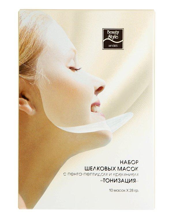 Маска Beauty Style Шелковая маска для лица Beauty Style с кремнием